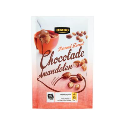 Huismerk Chocolade Amandelen Karamel Zeezout
