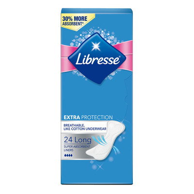 Libresse Inlegkruisjes long extra protection