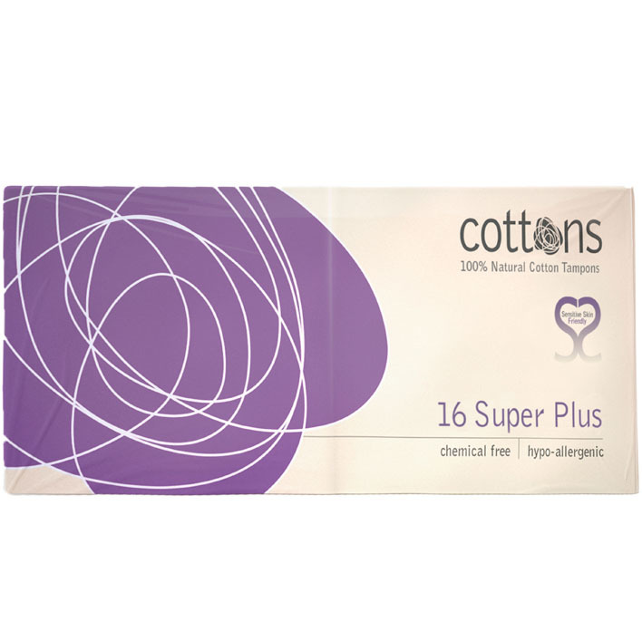 Cottons Tampons super plus