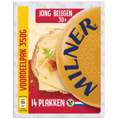 Milner Jong belegen kaas 30+ voordeelverp.
