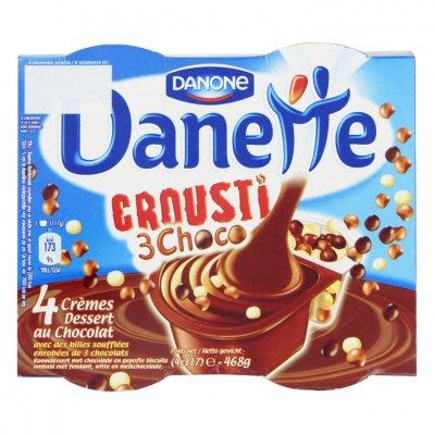 Danone Danette crousti chocolade