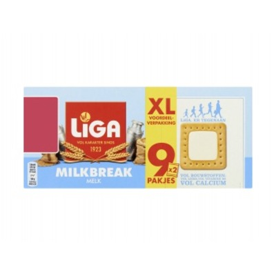 Liga Milkbreak biscuits original