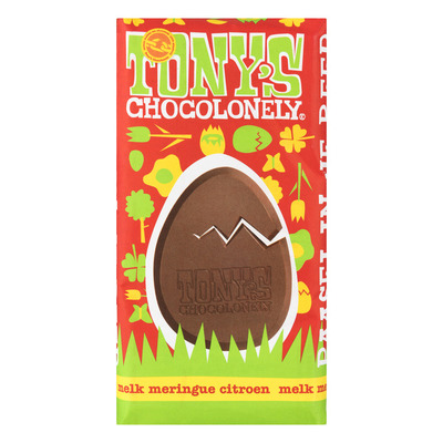 Tony's Chocolonely Melk 32% citroen meringue