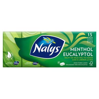 Nalys Menthol eucalyptol zakdoekjes