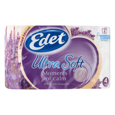 Edet Ultra soft moments of calm toiletpapier