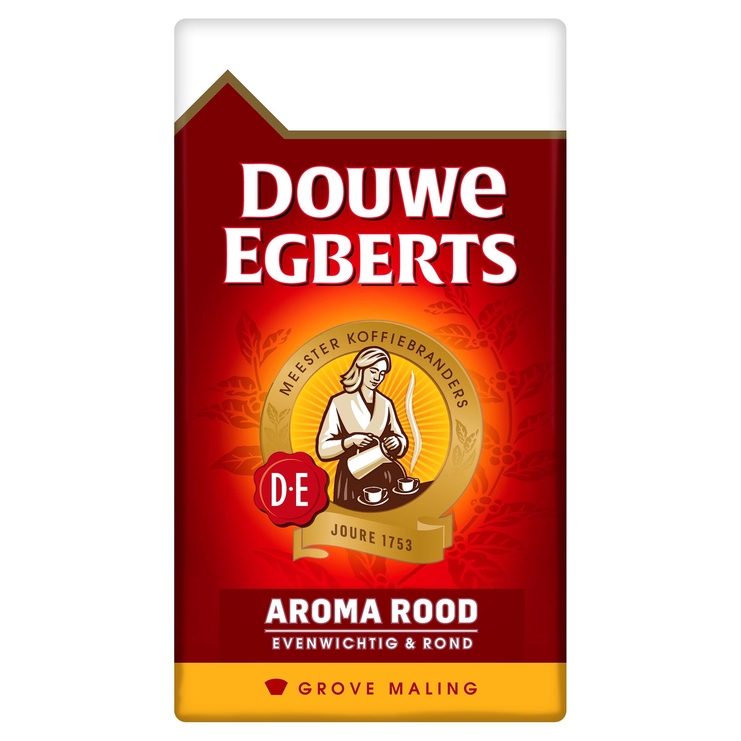 Douwe Egberts Aroma Rood Grove Maling Filterkoffie 500 g