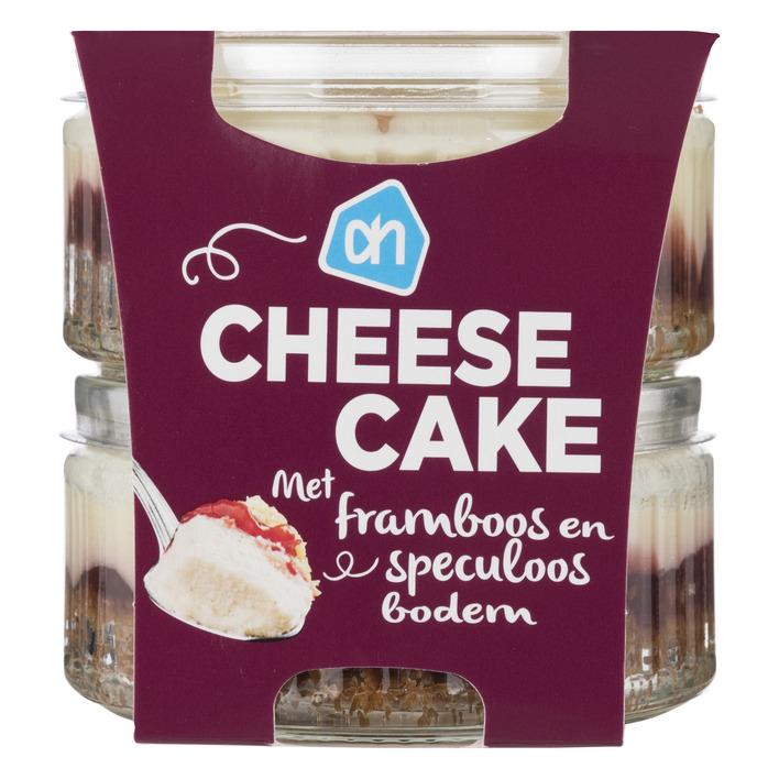 Huismerk Cheesecake framboos speculaas