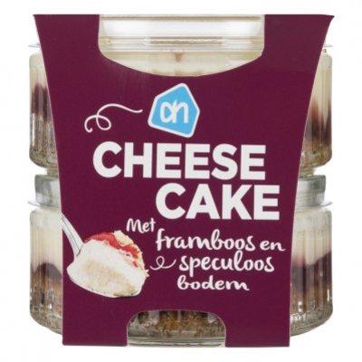 AH Cheesecake framboos speculaas