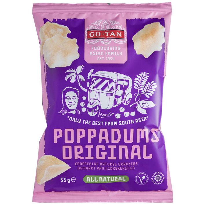 Go-Tan Poppadums