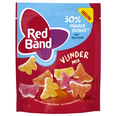 Red Band Vlinder mix 30% minder suiker
