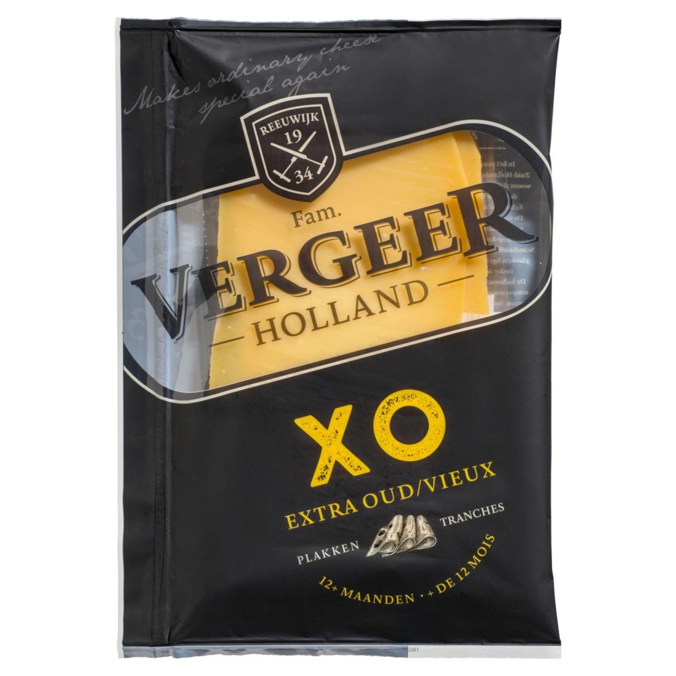 Vergeer Xo Extra Oude Kaas Gesneden
