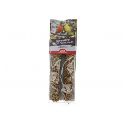 Best for your friend Snoepstokjes kanarie fruit