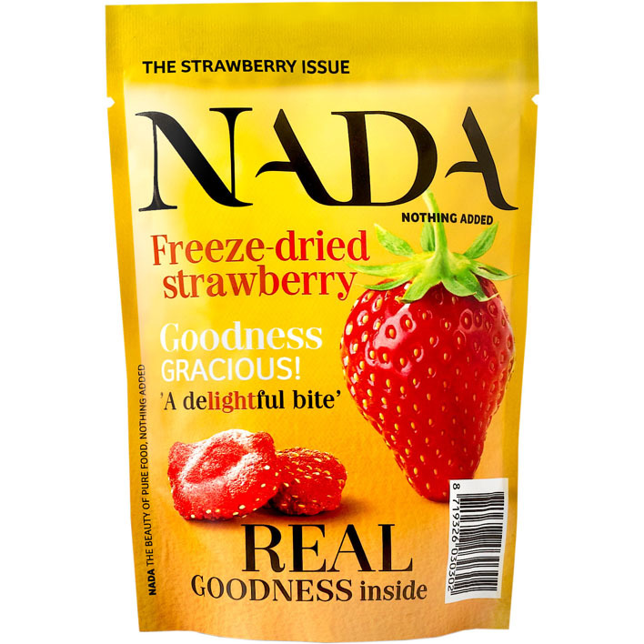 Nada Nothing Added Freeze dried strawberry