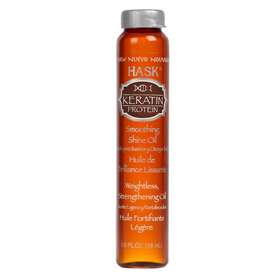 Hask Keratin protein smoothing shine oil vial
