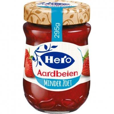 Hero Minder zoet aardbeien jam