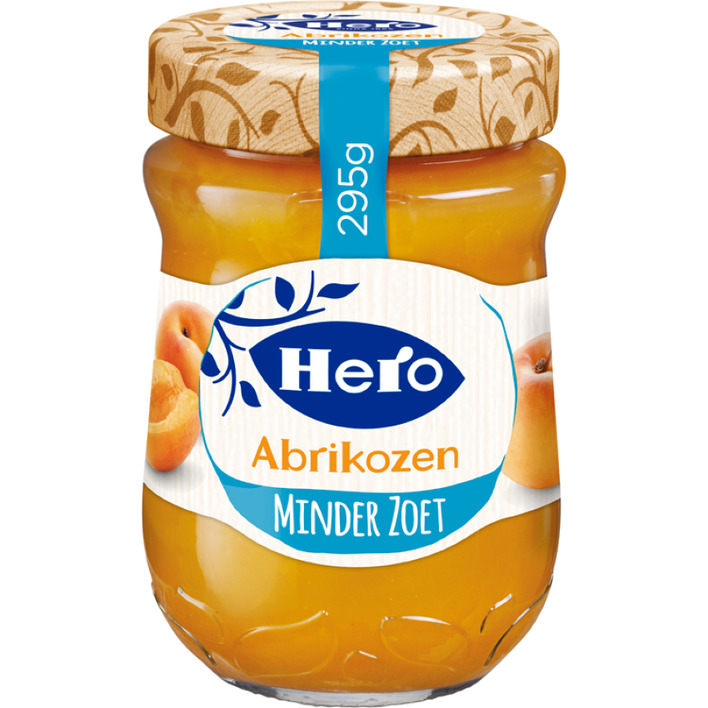 Hero Minder zoet abrikozen jam