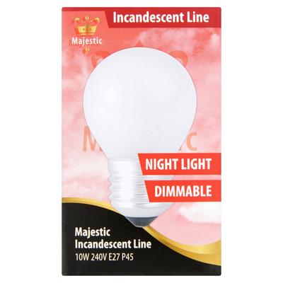 Majestic Nacht Kogellamp Dimbaar Warm White 10W E27