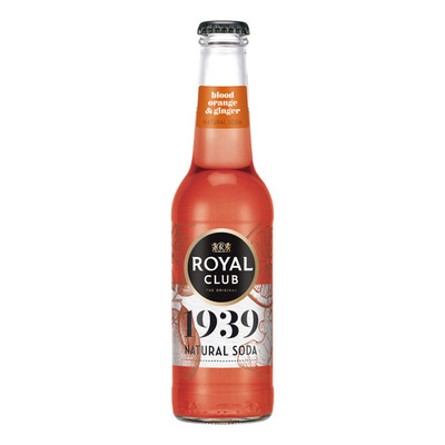 Royal Club Natural soda bloodorange ginger