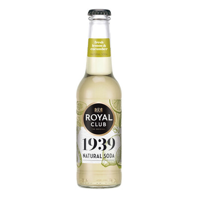 Royal Club Natural soda lemon cucumber