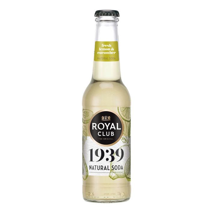 Royal Club Lemon cucumber natural soda