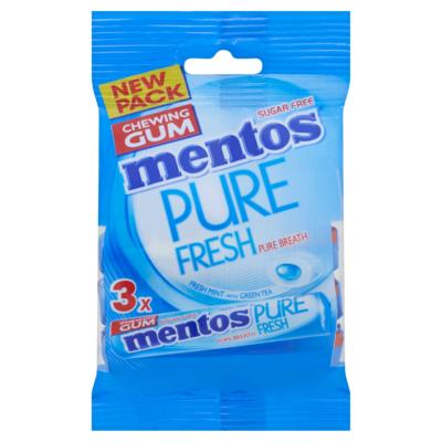 Mentos Gum Pure Fresh Fresh Mint Rol 3 x 15,5 g