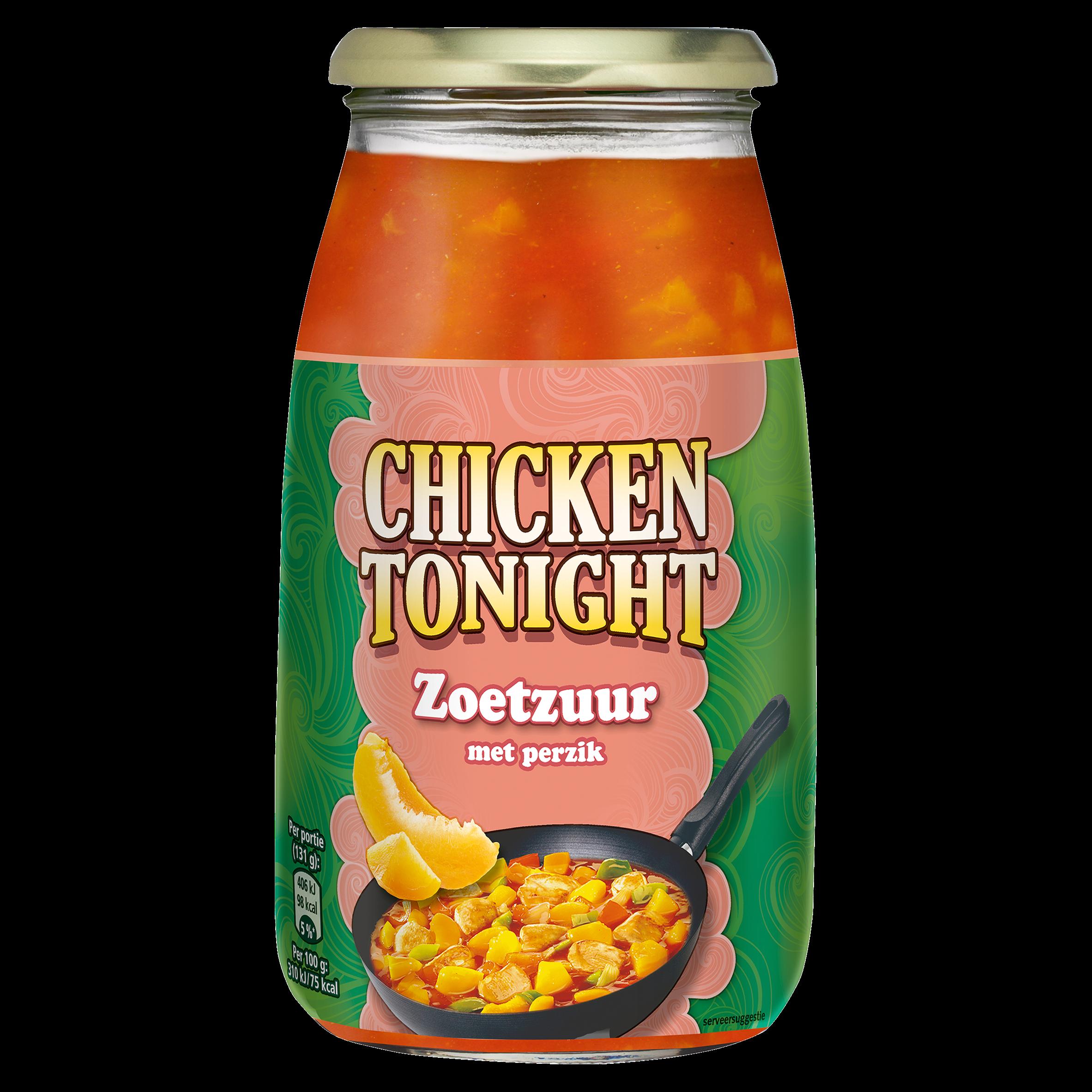 Chicken Tonight Zoetzuur Perzik 525 g
