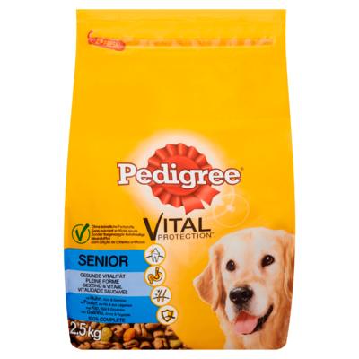 Pedigree Hondenvoer Droog Vital Protection Kip, Rijst & Groenten Senior 2,5 kg