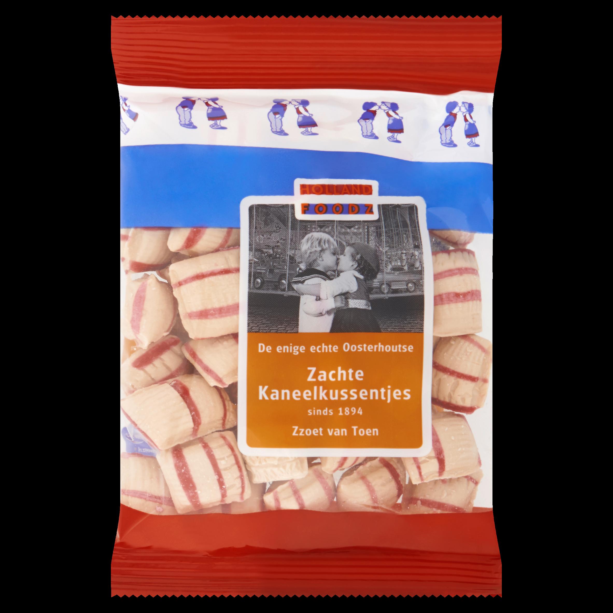 Holland Foodz Zachte Kaneelkussentjes 160 g