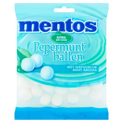 Mentos Pepermuntballen 220 g