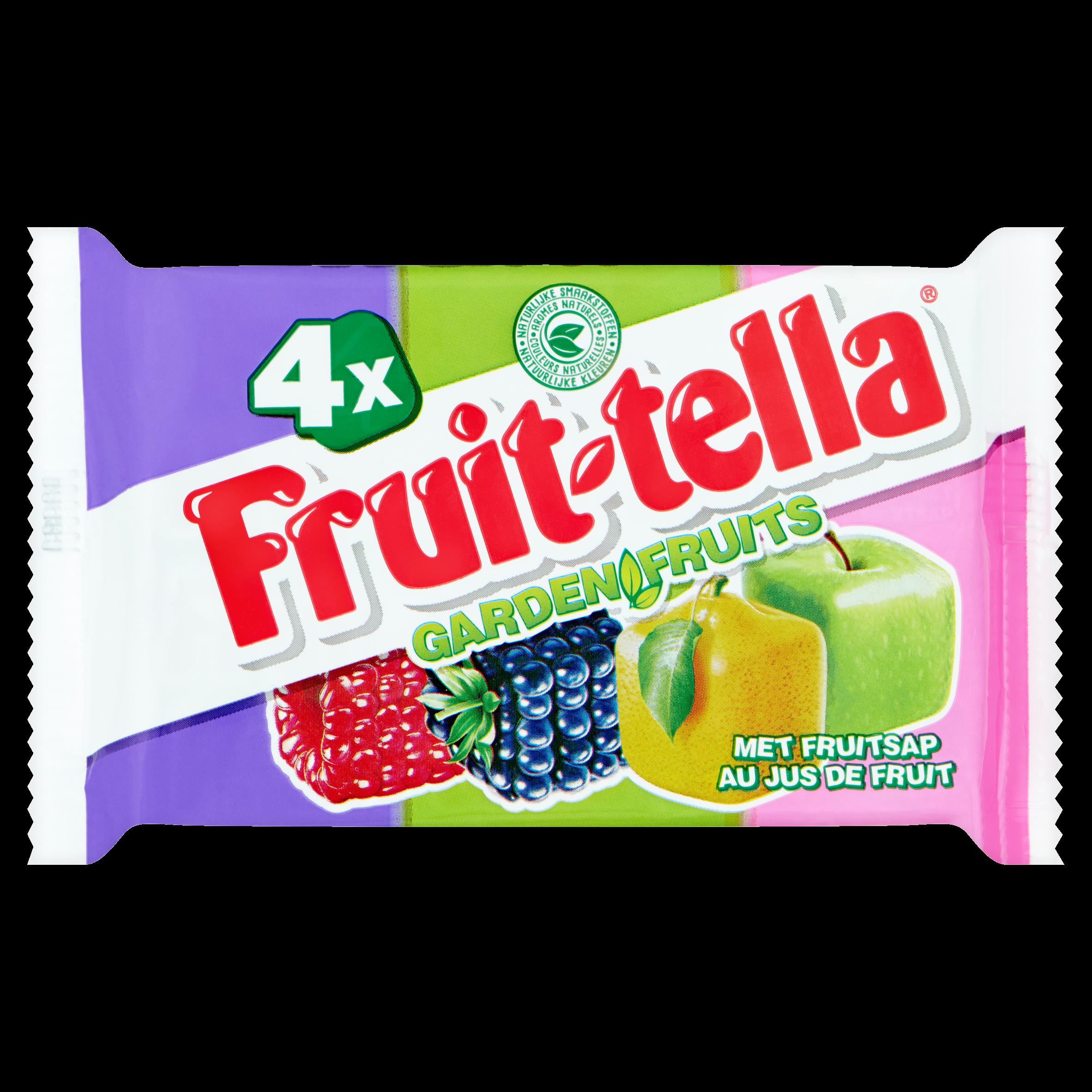Fruittella Garden Fruits 4 x 41 g