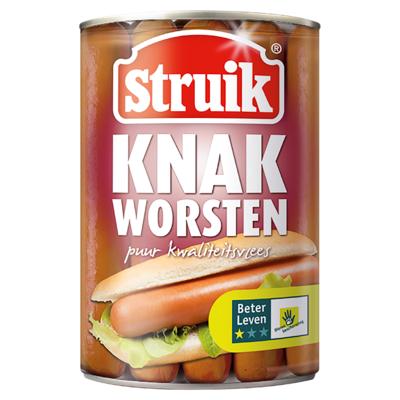 Struik Knakworsten 10 Stuks 400 g