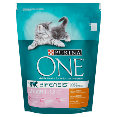 Purina ONE Bifensis Dual Defense Junior 1-12 Maanden Kip 800 g