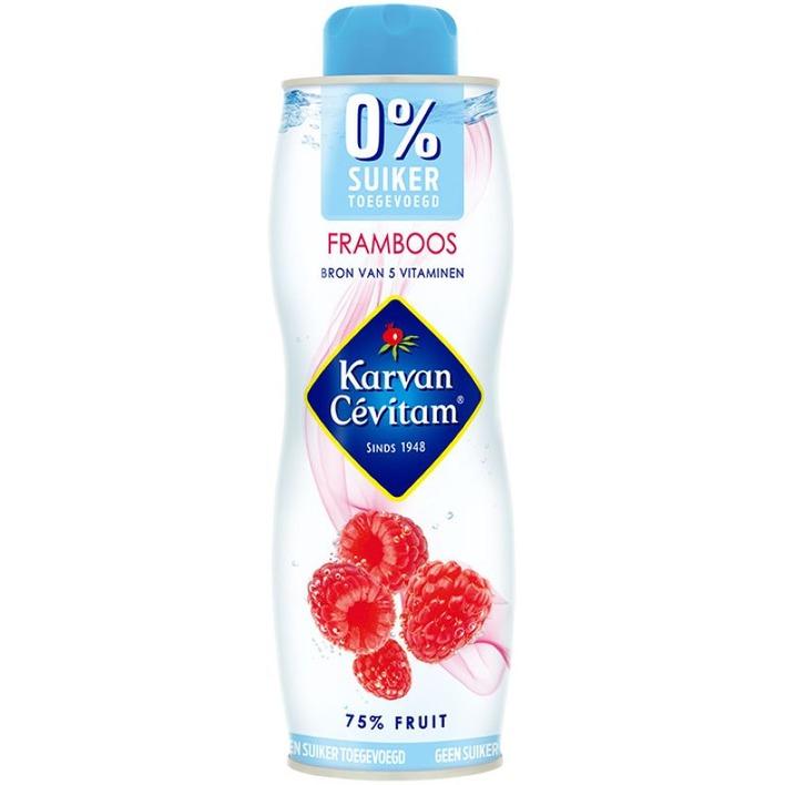Karvan Cévitam Framboos 0% suiker toegevoegd