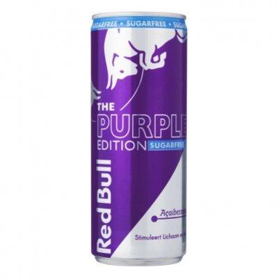 Red Bull Purple sugarfree edition