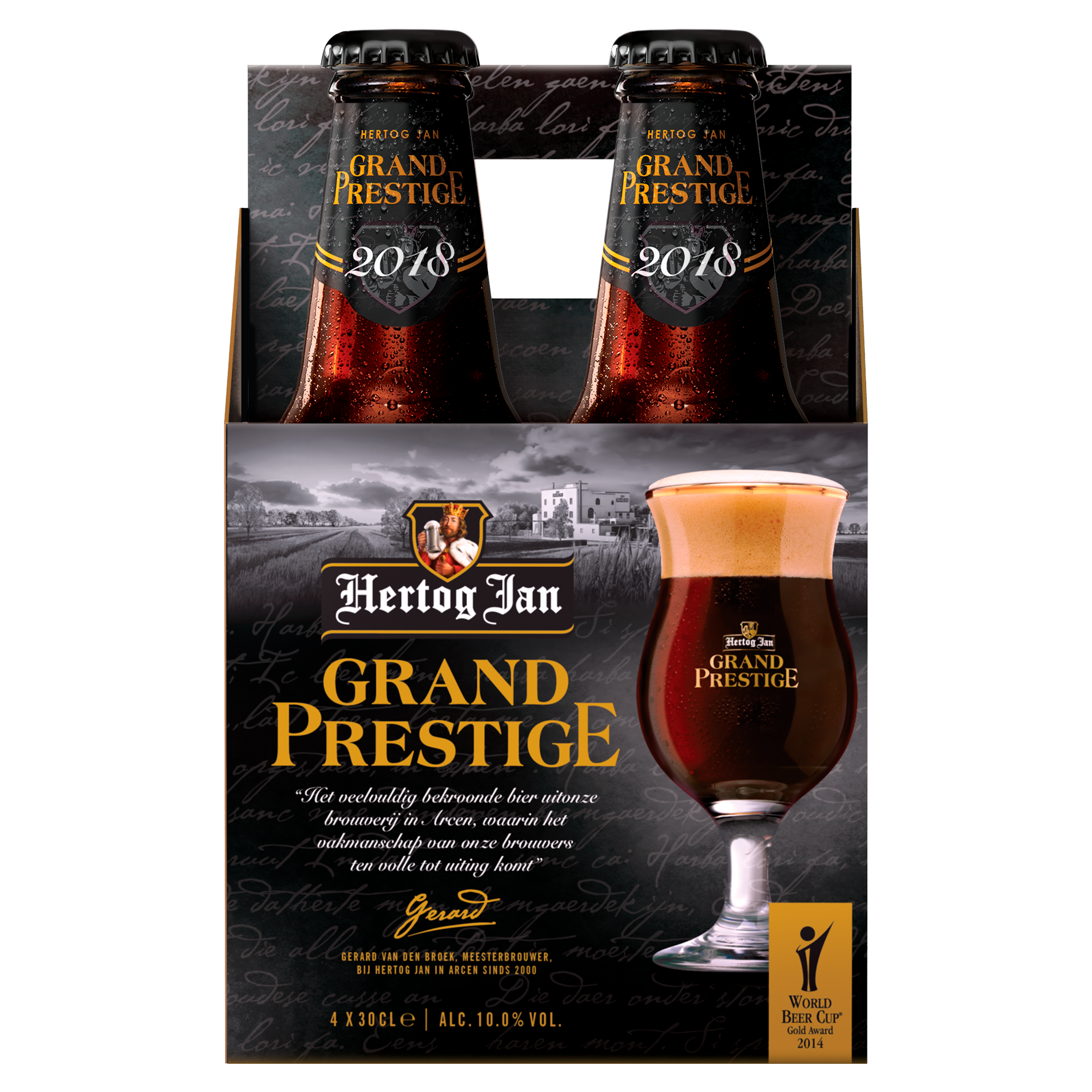 Hertog Jan Grand Prestige Bier Flessen 4 x 30 cl