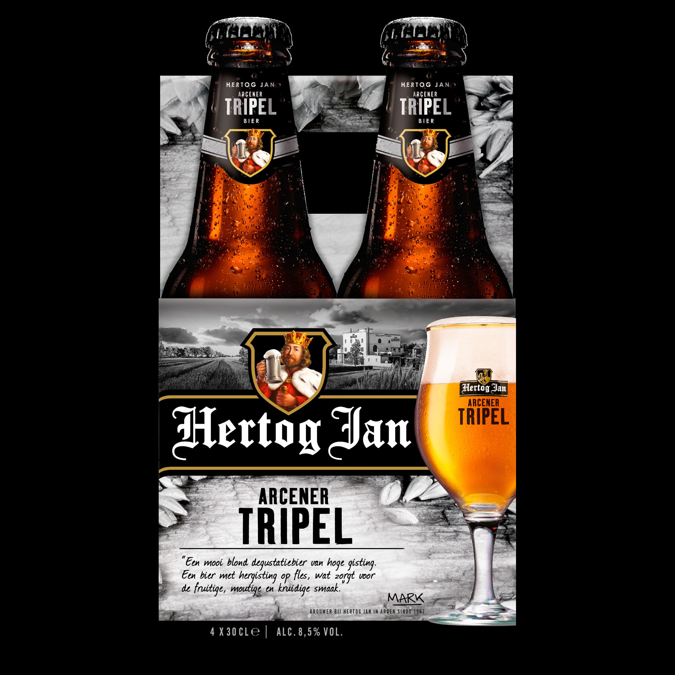 Hertog Jan Tripel Bier Flessen 4 x 30 cl