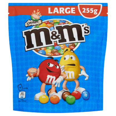 M&M's Crispy Large 255 g