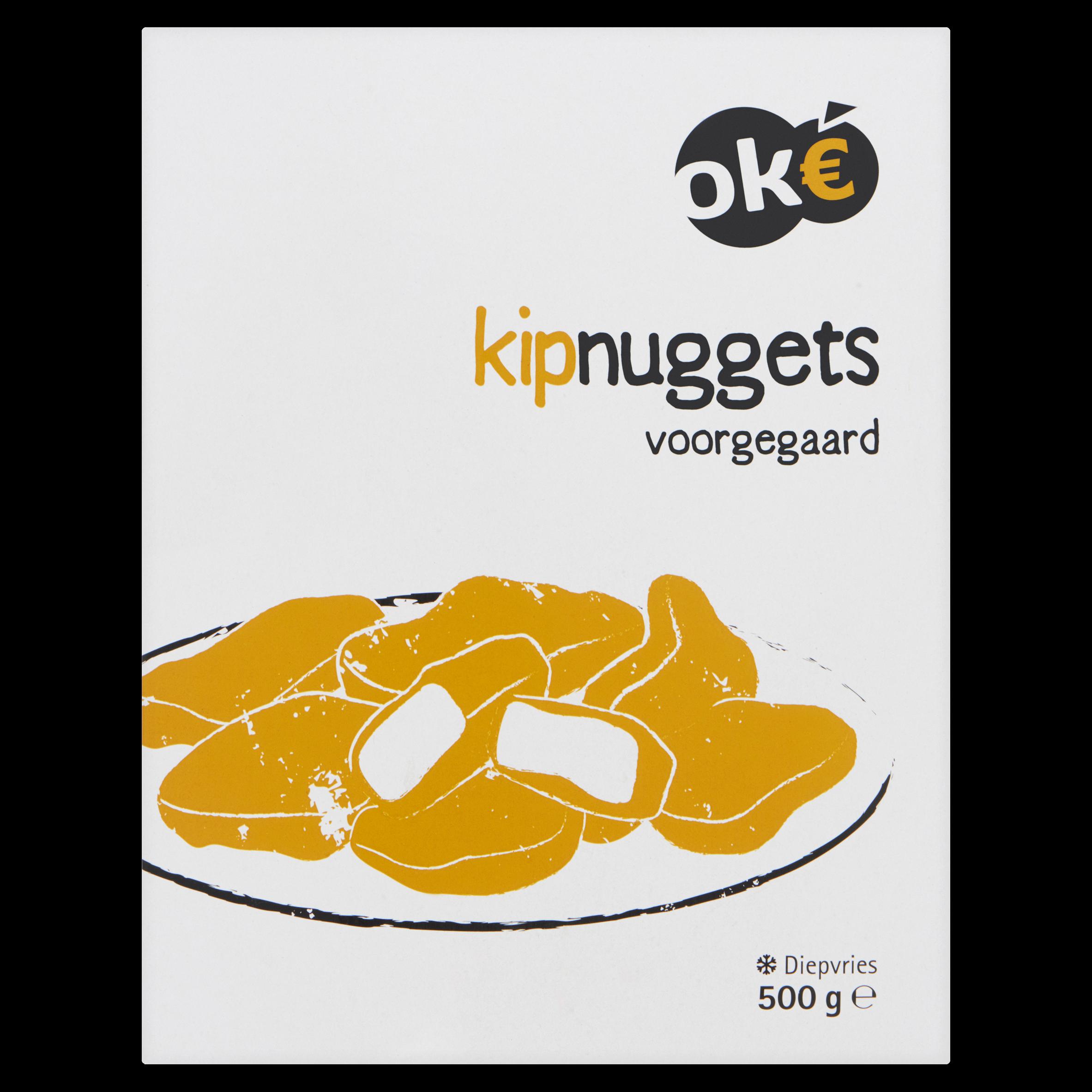 Budget Huismerk Kipnuggets Voorgegaard 500 g
