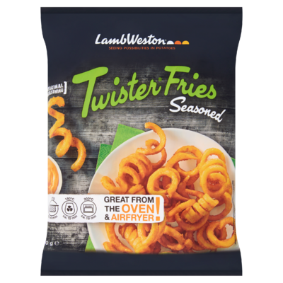 Lamb Weston Twister Fries Seasoned 600 g