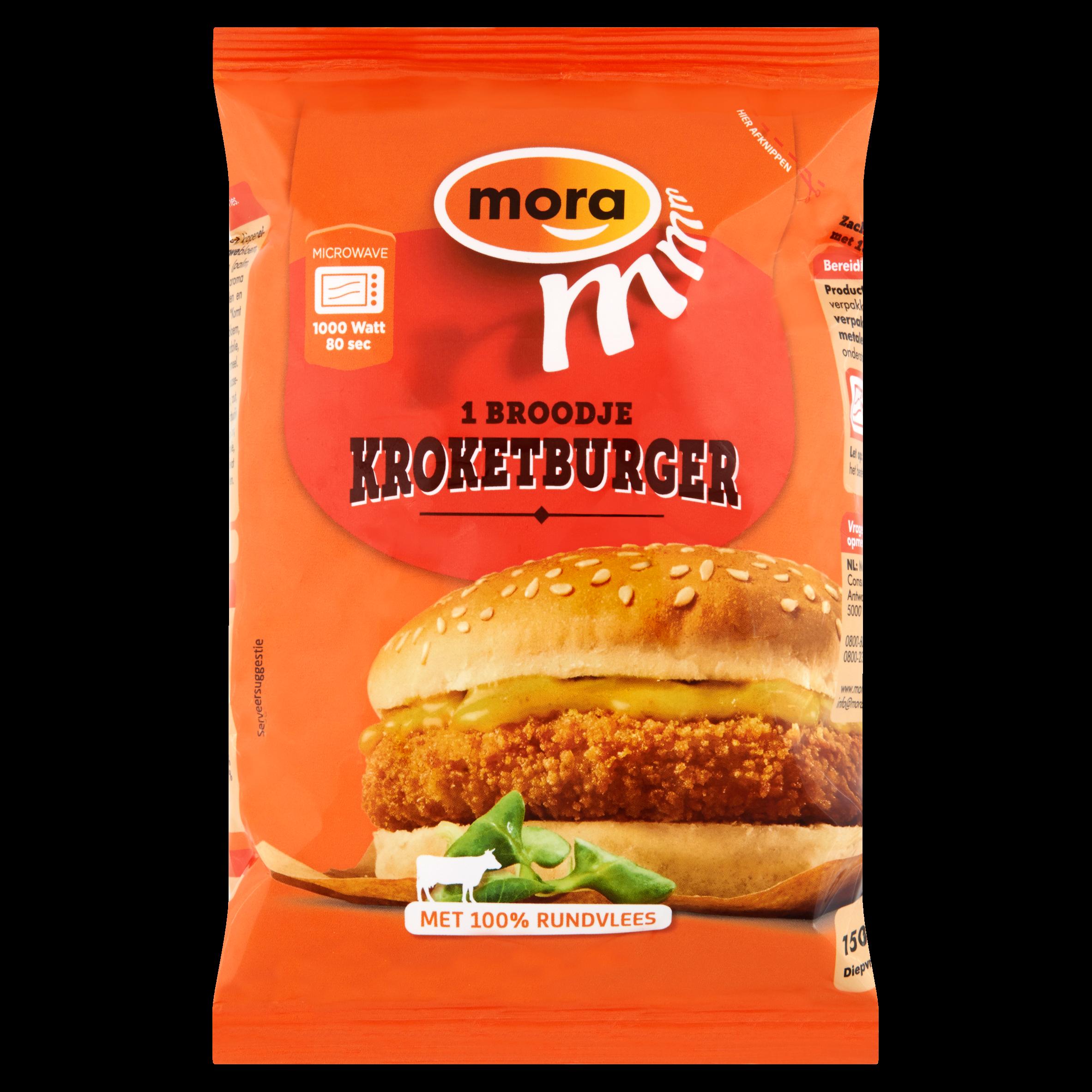 Mora Broodje Kroketburger 150 g