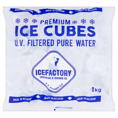 Icefactory Premium Ice Cubes 1 kg