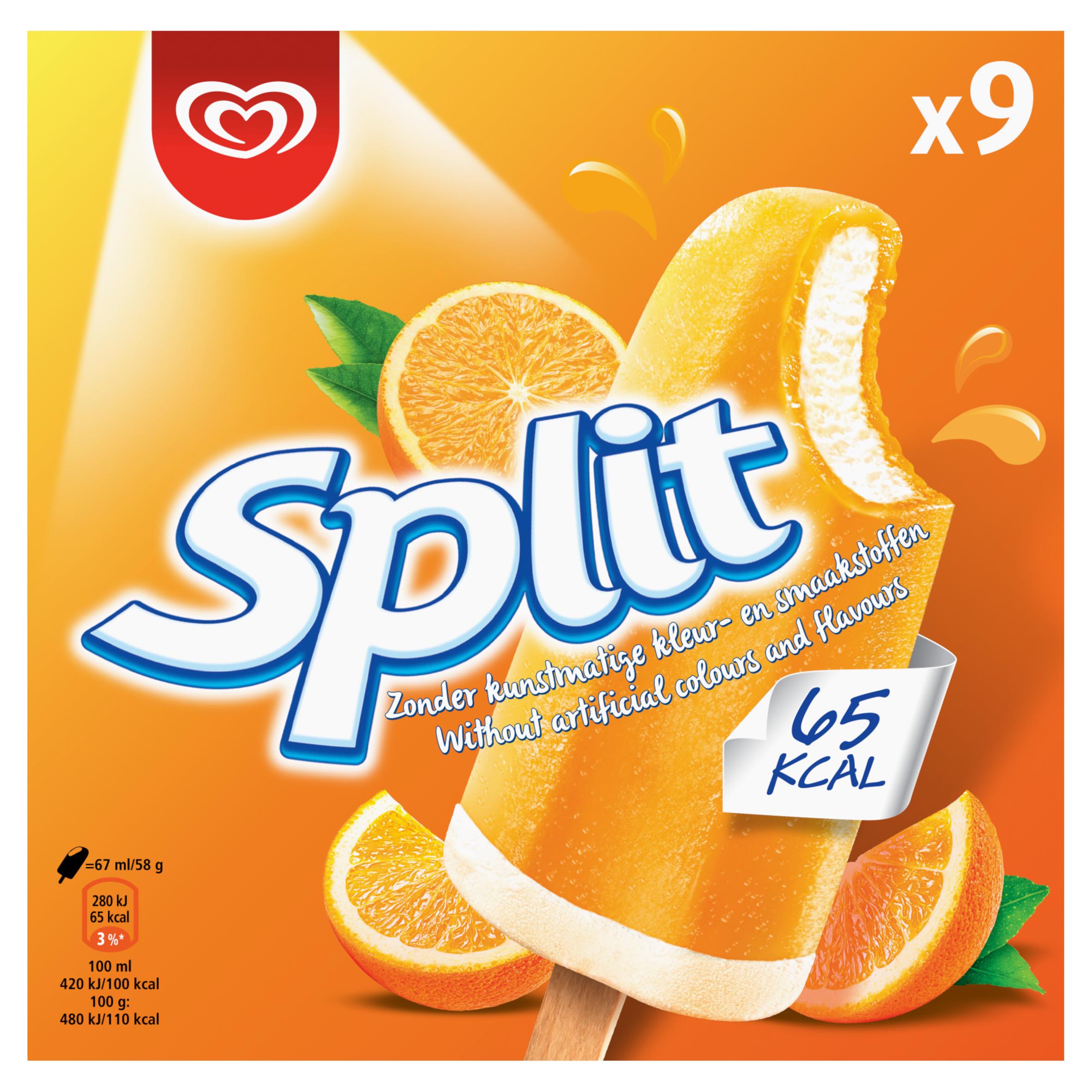 OLA IJs Split 9 Stuks