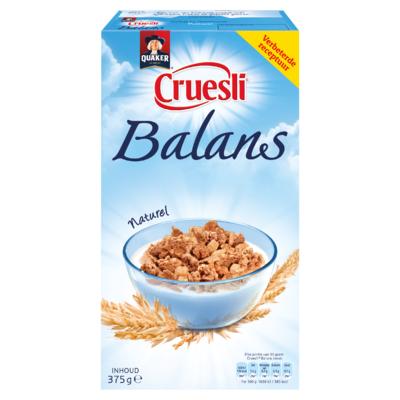 Quaker Cruesli Balans Naturel 375 gr