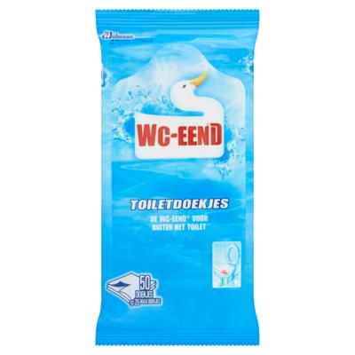 WC-Eend Vochtige Toiletdoekjes 50 Stuks
