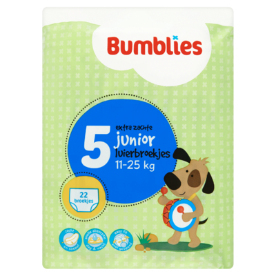 Bumblies Luierbroekjes 5 Junior 11-25 kg 22 Stuks