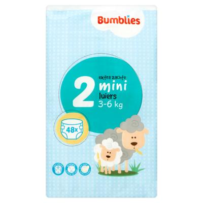 Bumblies Luiers 2 Mini 3-6 kg 48 Stuks