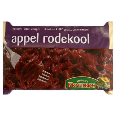 Rode kool met appel