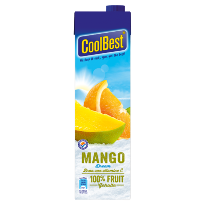 Coolbest 100% fruit  mango dream