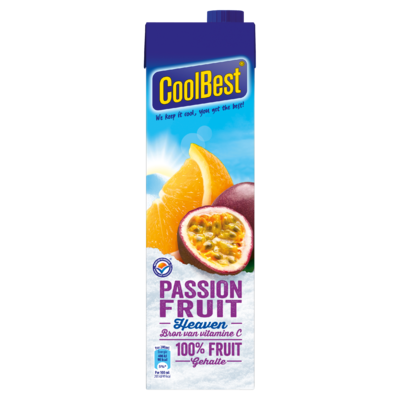 Coolbest 100% fruit  passionfruit heaven