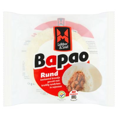 Lekker & Snel Bapao Rund 115 g